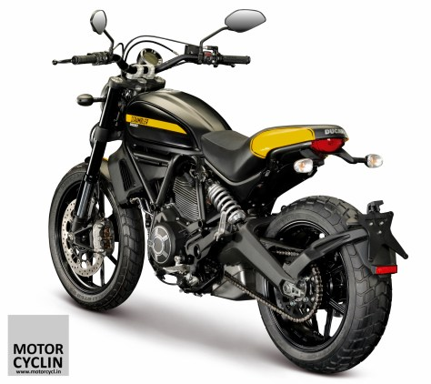 Features of Ducati Scrambler