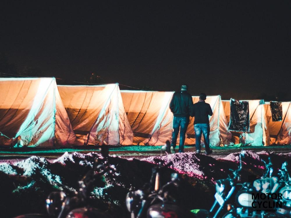 BOBMC RiderMania 2016 photos of tents