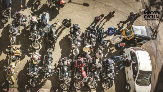 BOBMC RiderMania 2016 photos parking