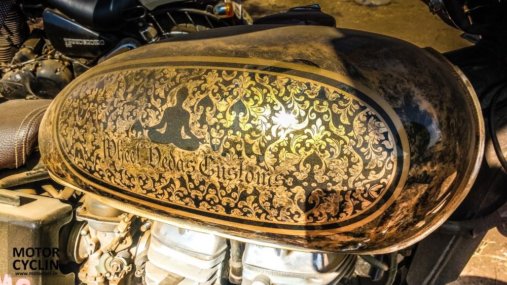 BOBMC RiderMania 2016 photos of custom tank