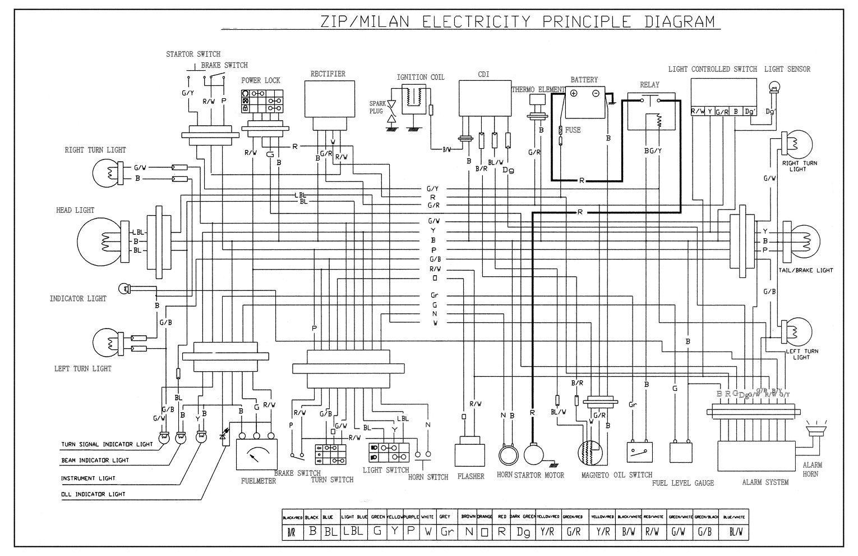 keeway 50 wiring diagram