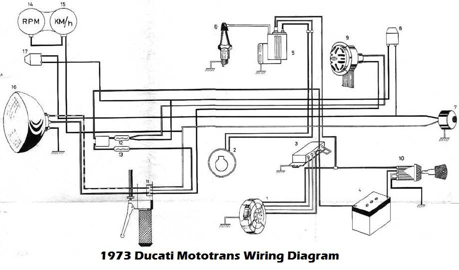 1973 ducati mototrans wiring diagram