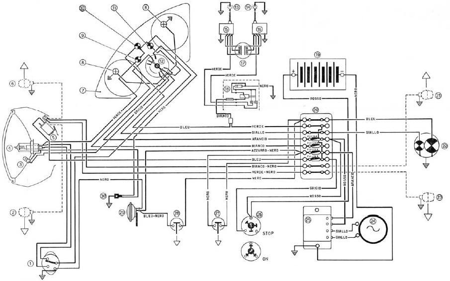 ducati 250 wiring diagram circuit diagram template
