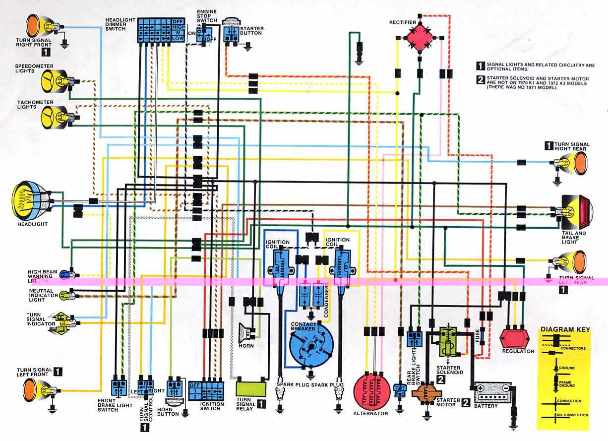 Sl350 Wiring Diagram Fe Diagrams Light Switch Extension Cord Wire Honda Shadow Library 1972