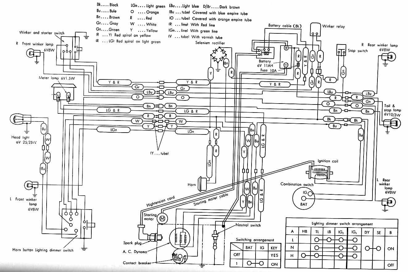Honda C50 Wiring Diagram : 24 Wiring Diagram Images