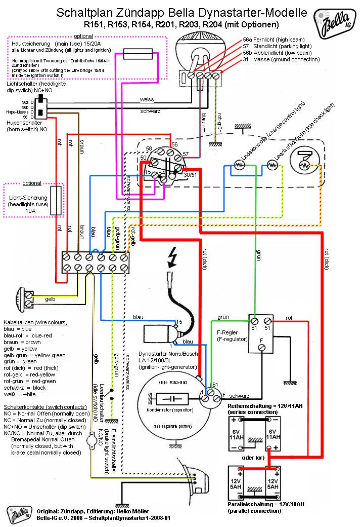 tao electric scooter wiring diagram