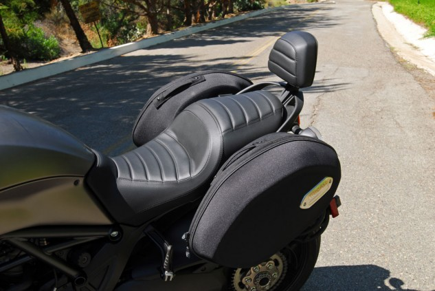 2013 Ducati Diavel Strada Luggage
