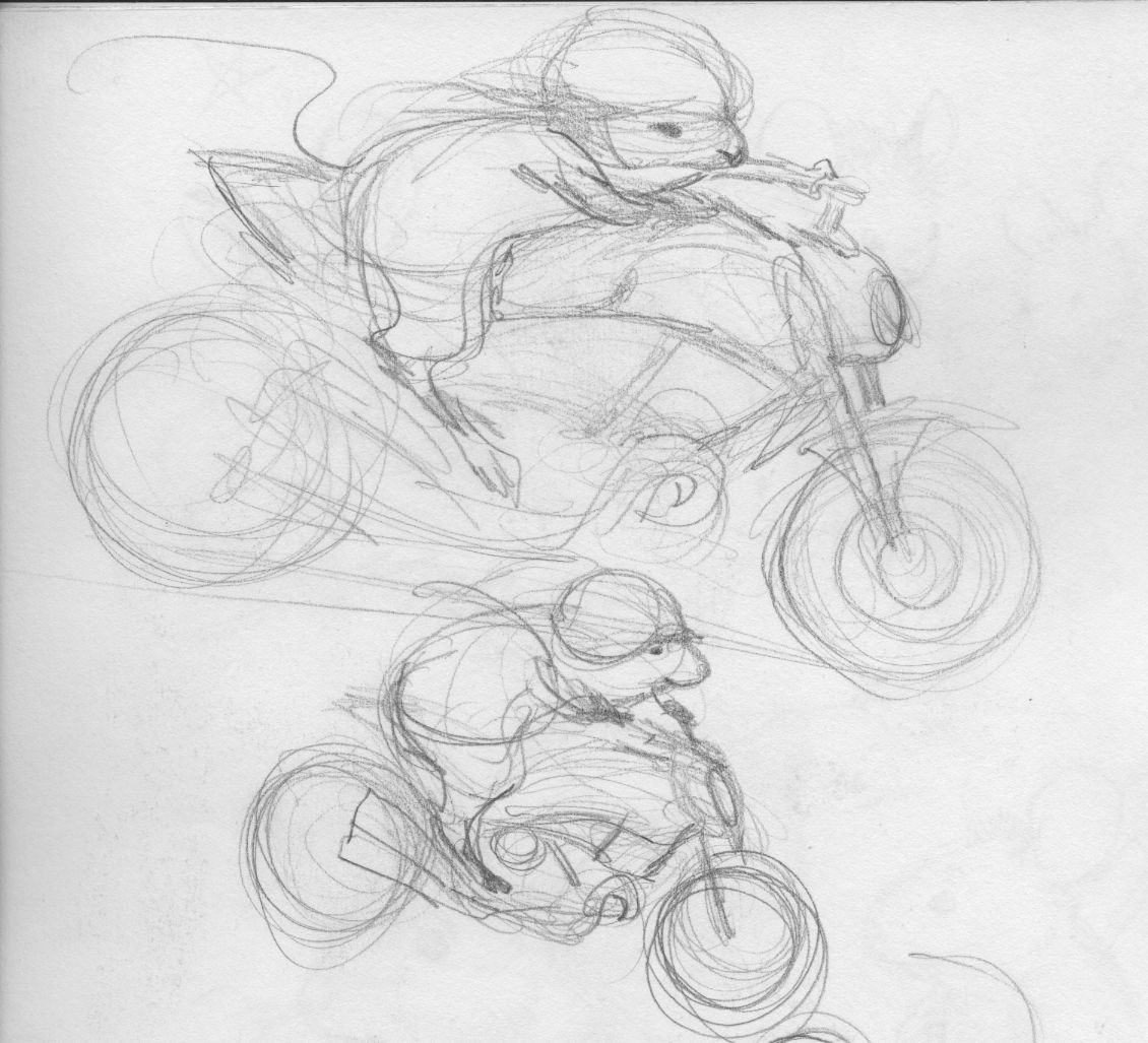 Skidmarks The Mouse And The Diavel