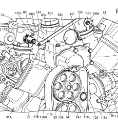 and if a supercharged v twin isn t enough the patents also describe a direct fuel injection system to spraying fuel directly into the cylinder  [ 2442 x 1728 Pixel ]