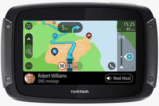 Motorcycle GPS Buyer's Guide - TomTom Rider 550