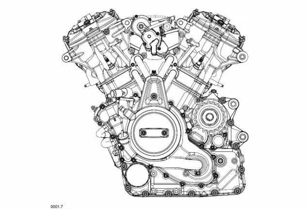 New Harley-Davidson V-Twin Engine Design Revealed