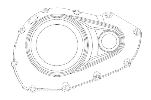 small resolution of take a look at the engine cover below though the images are from different angles it s clear from the mounting bolts locations that the designs show a