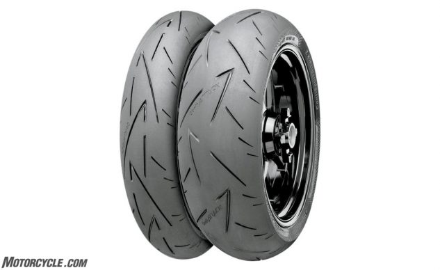 Continental Sport Attack 2 Tires