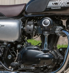2019 kawasaki w800 cafe engine [ 2431 x 1490 Pixel ]
