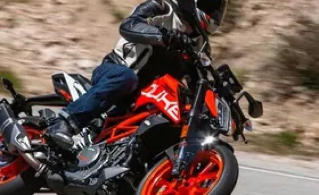 2019 KTM 390 Duke