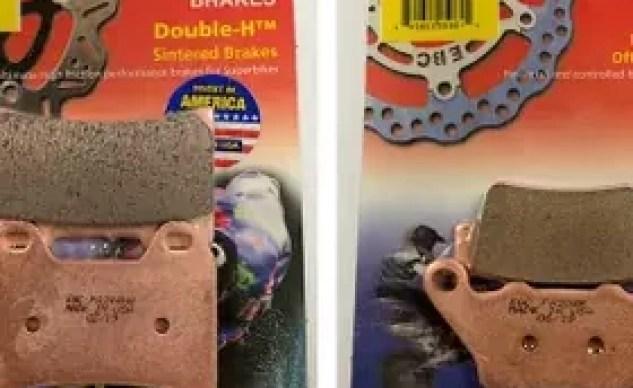 2019 KTM 790 Duke EBC brake pads