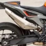 2019 KTM 790 Duke stock exhaust