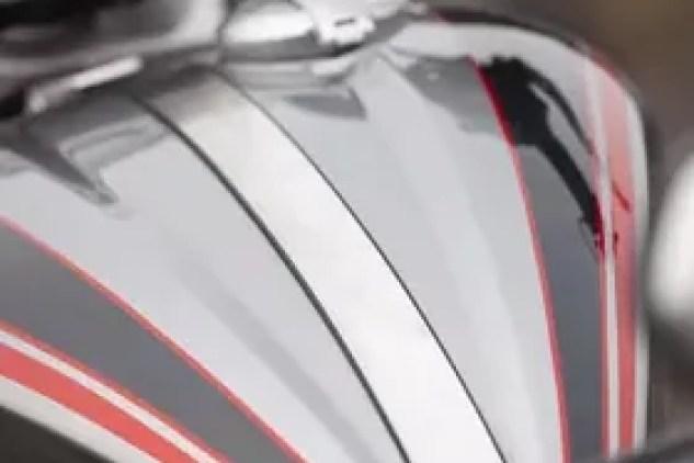 2020 Triumph Rocket 3 4.75 gallon fuel tank