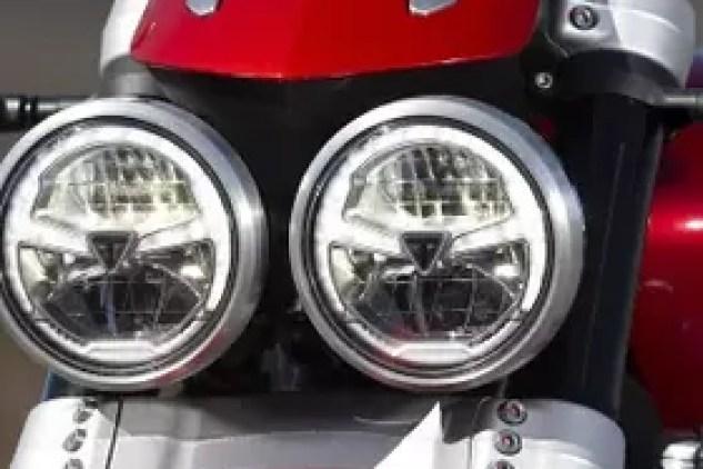 2020 Triumph Rocket 3 headlight