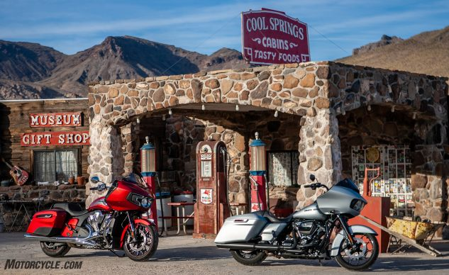 Harley-Davidson Road Glide Special vs Indian Challenger Limited