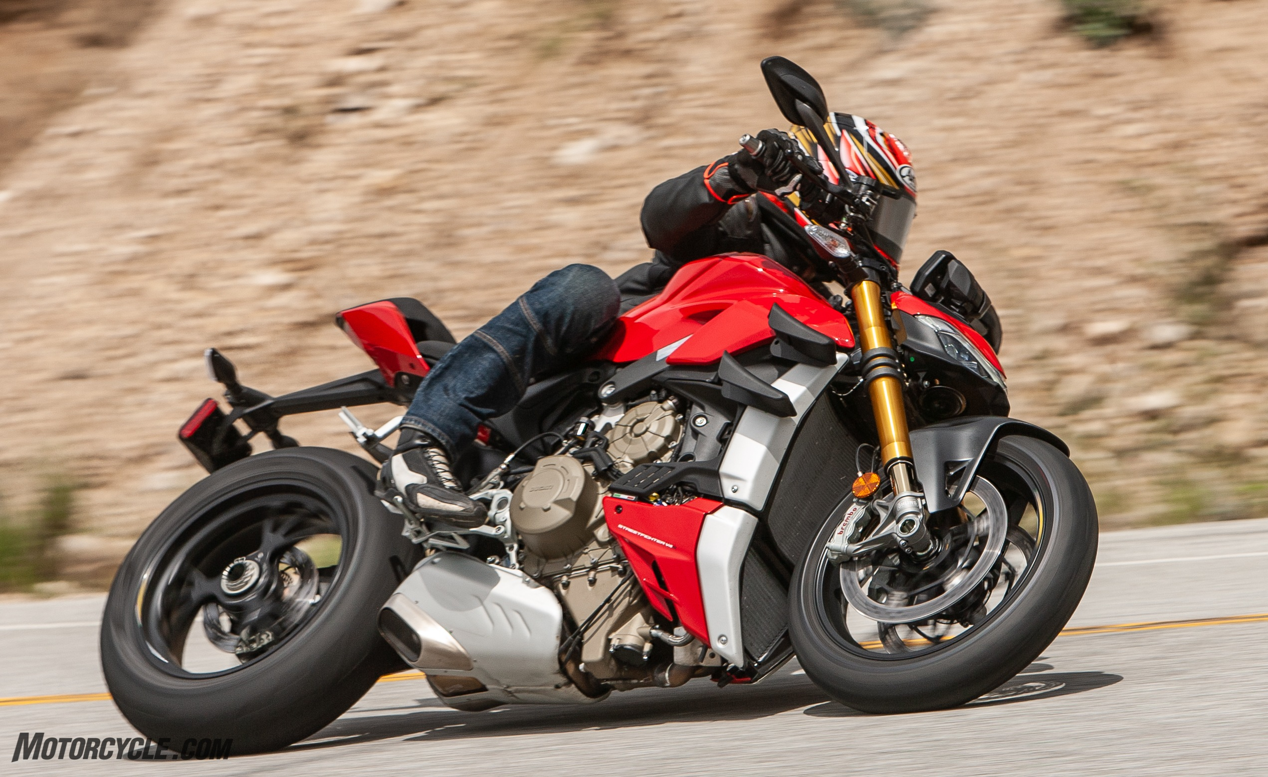 2020 Ducati Streetfighter V4 S – First Ride Review