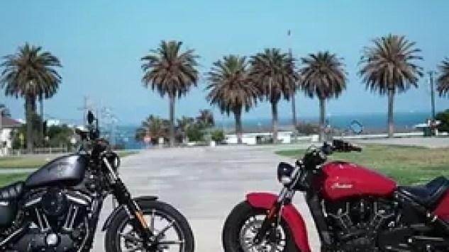 Harley-Davidson vs Indian