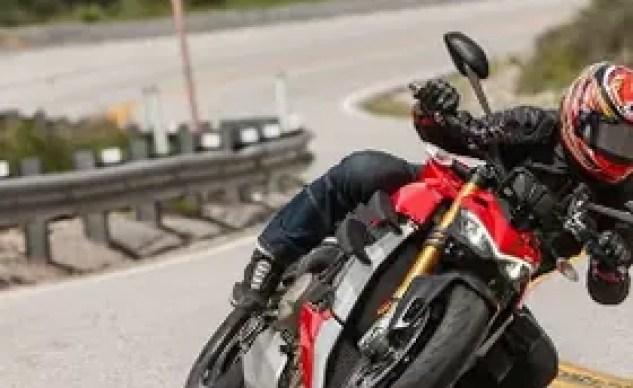 Best Naked Motorcycle of 2020 runner-up Ducati Streetfighter V4