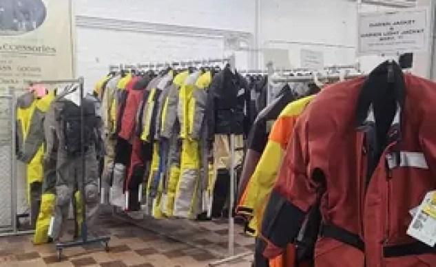 aerostich showroom