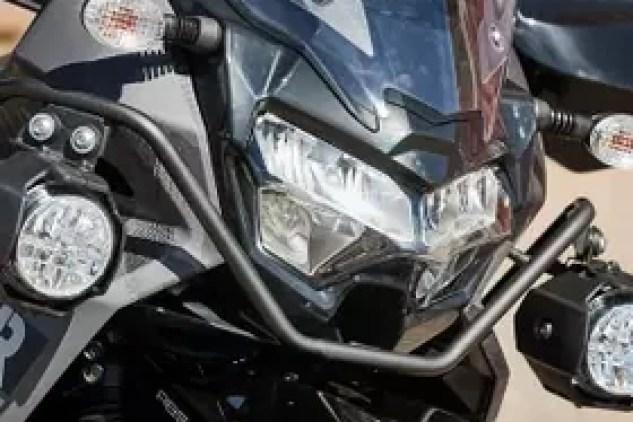 2022 Kawasaki KLR 650 lights