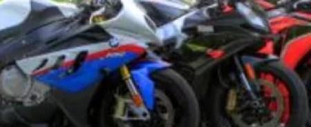 Japan vs. the Euros: 2010 BMW S1000RR, 2010 Aprilia RSV4 R, 2010 Honda CBR1000RR and 2010 Kawasaki ZX-10R.