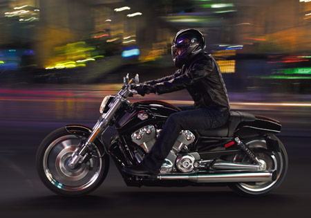 Black bikes and dark riding gear may look cool but they make it harder to be seen by other motorists.