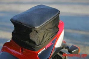 Be sure to find out exactly how much weight your bike can carry before you load it up.
