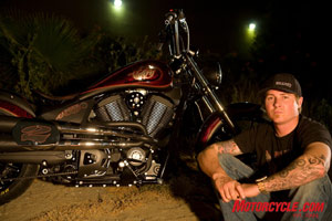Roland Sands joins the Victory team of designers.