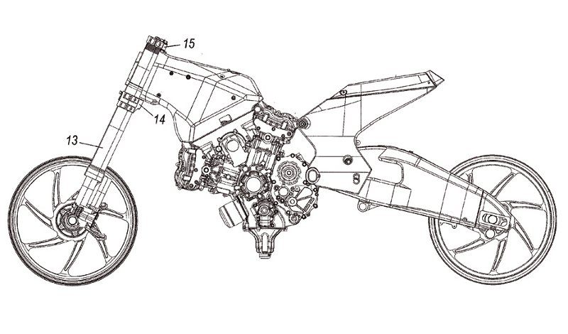 Ducati Patent Application Pointing To Future Street Bike