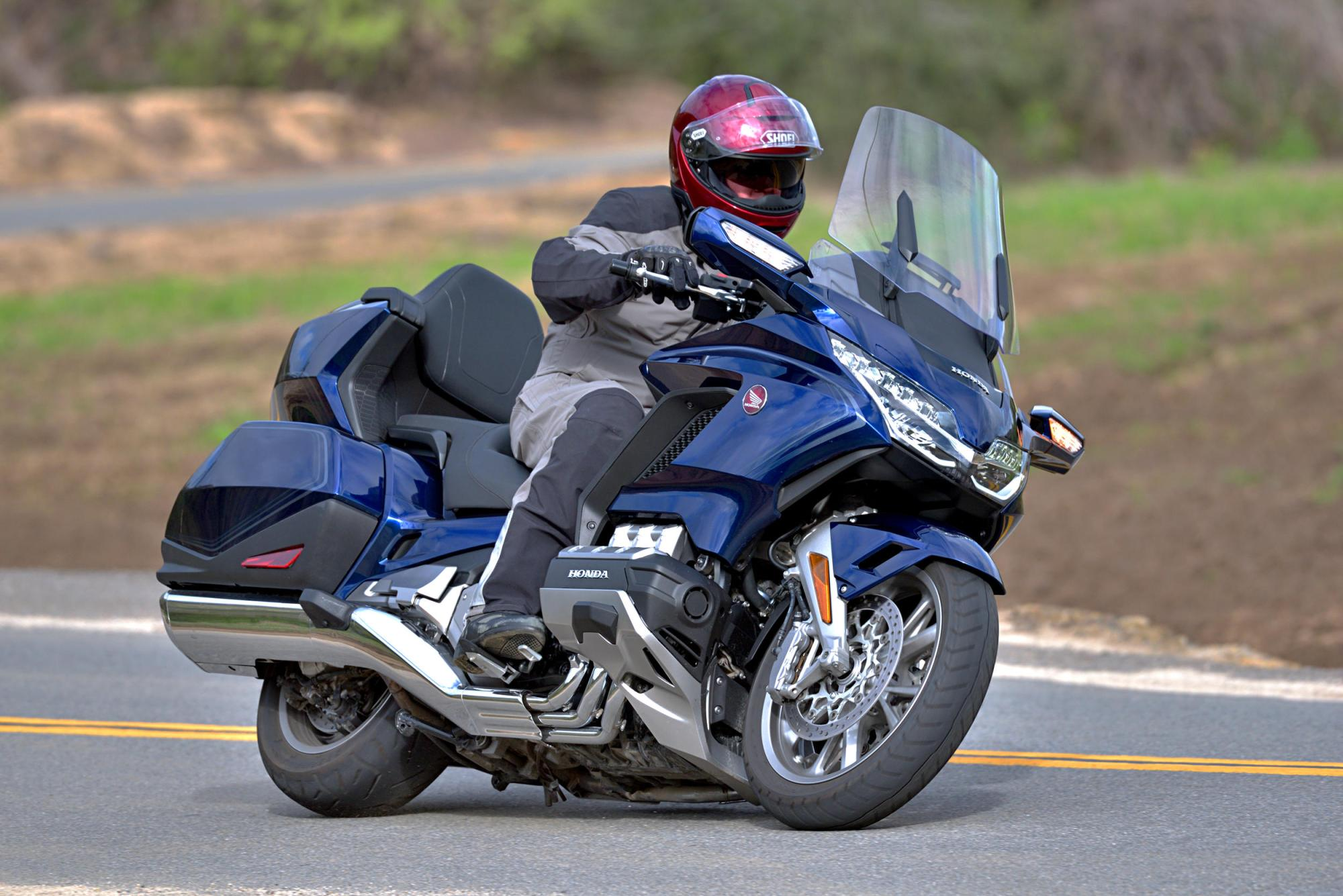 hight resolution of 2018 honda gold wing tour dct md ride review