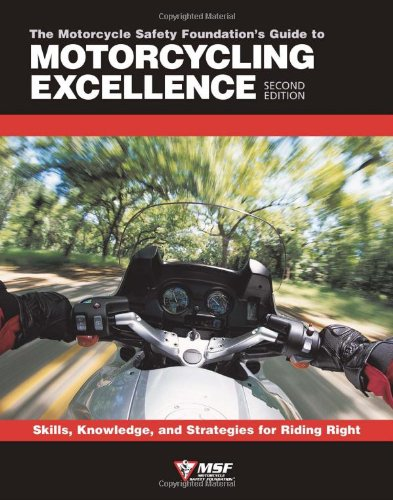 MSF Learn to ride a Motorcycle Book