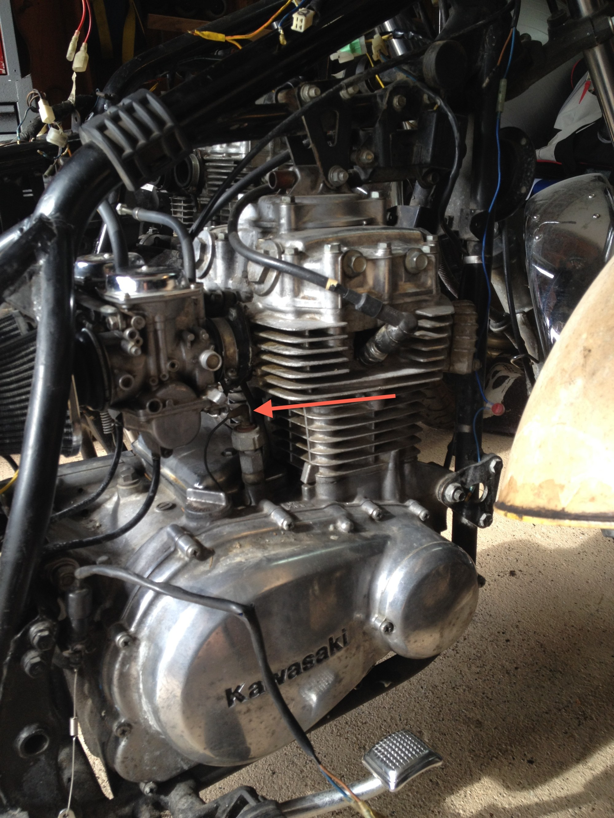 hight resolution of  81 kawasaki kz440 what is this darn wire kawi cable jpg