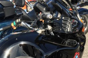 Empty Motorcycle GPS Cradle