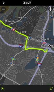 Navigon Cruiser Motorcycle GPS App for your Phone