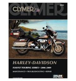 clymer harley davidson flh flt touring series 2006 2009 manual [ 1500 x 1500 Pixel ]