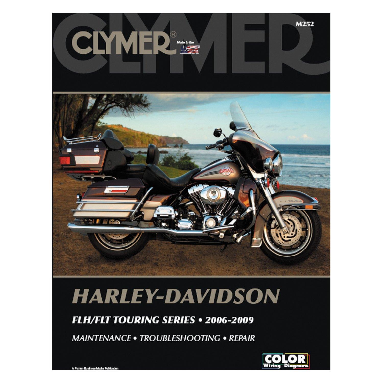 hight resolution of clymer harley davidson flh flt touring series 2006 2009 manual