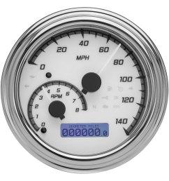 dakota digital mvx 2000 series 4 1 2 speedometer  [ 1500 x 1500 Pixel ]