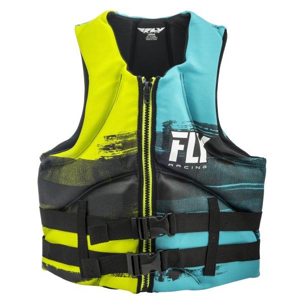 Fly Racing 142424-505-030-18 - Men' Medium Aqua Lime