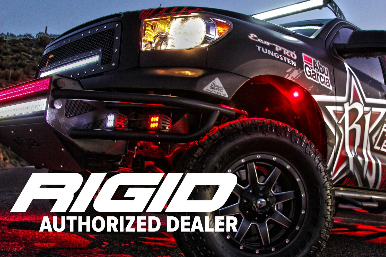 hight resolution of rigid industries authorized dealer