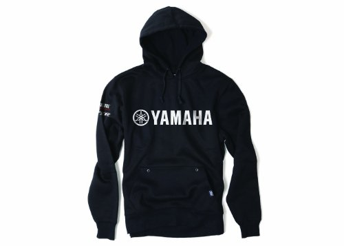 Factory Effex Official Yamaha Lined Screen Printed Zip Up Mens Hoodies