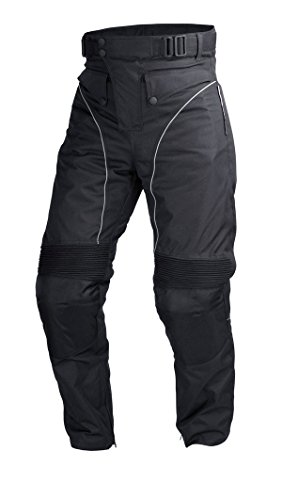 Motorcycle Sport Mesh Riding Pants Black with Removable CE Armor  PT3