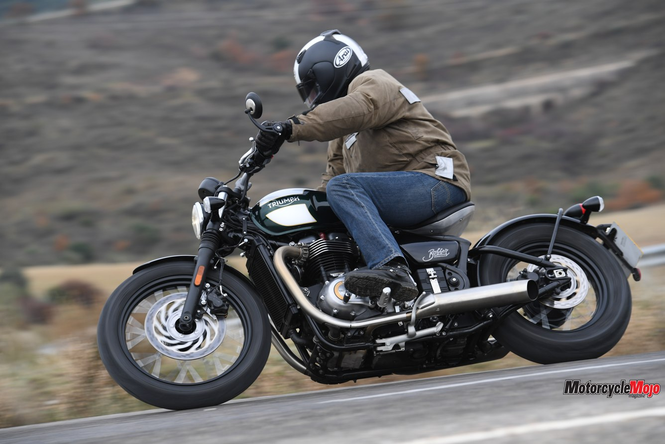 2017 Triumph Bonneville Bobber Review and Test Ride - Motorcycle Mojo Magazine