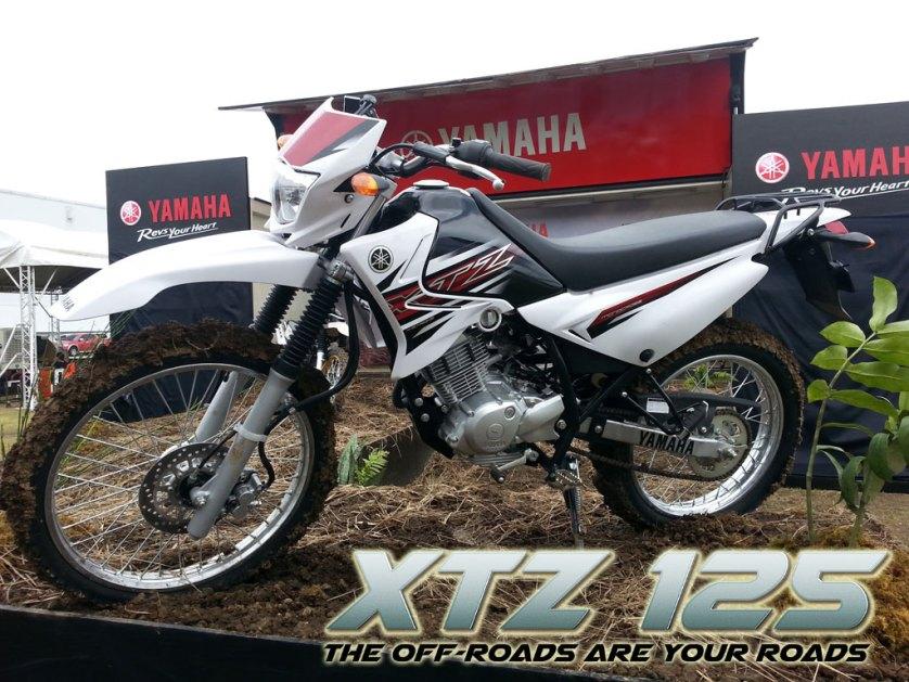 Yamaha officially launches xtz 125 and serow 250 for Yamaha xtz 125
