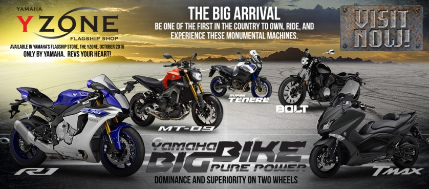 Yamaha R Series Bikes Price List