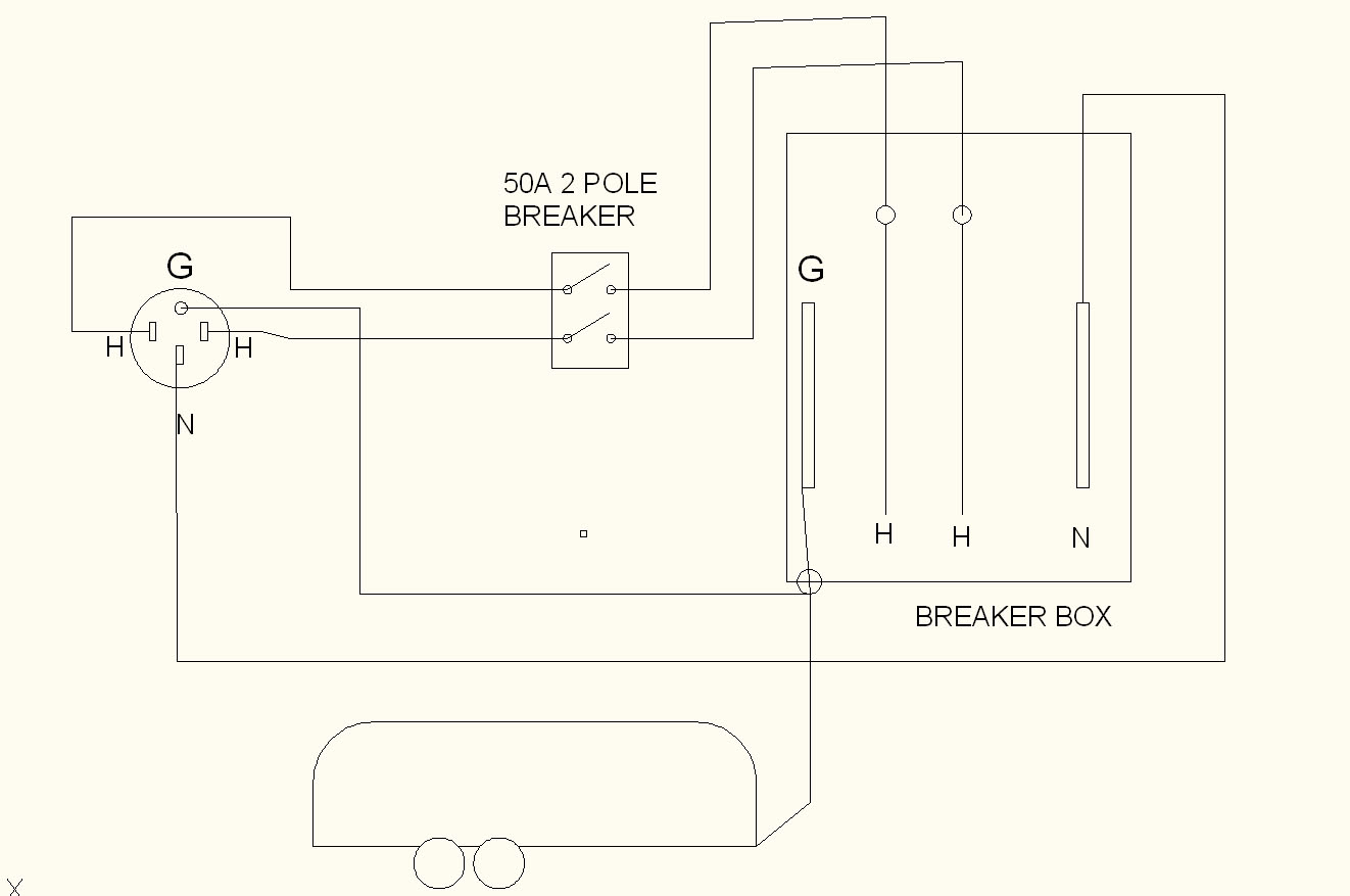 hight resolution of 50 amp service upgrade done page 3 airstream forums 50 amp rv schematic wiring